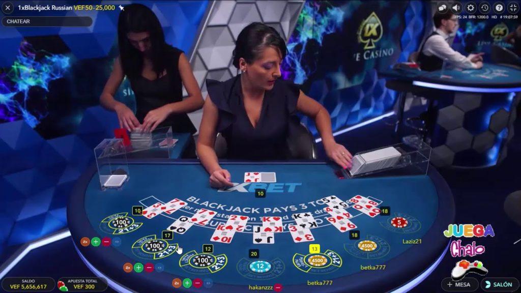 1xbet canlı casino