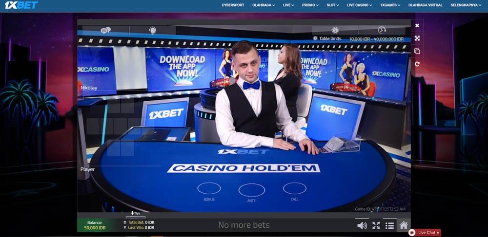 1xbet canlı casino kurpiyer